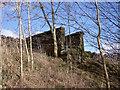 SK1560 : Former footbridge abutment by Ian Calderwood