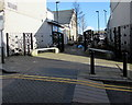 SO1911 : Ornate metalwork, Beaufort Street, Brynmawr by Jaggery