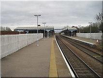 TL4197 : March railway station, Cambridgeshire by Nigel Thompson