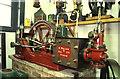 TF8842 : Former Bygones Museum, Holkham Hall - stationary steam engine by Chris Allen