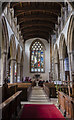 TF1134 : Interior, St Andrew's church, Billingborough by Julian P Guffogg