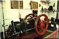 TF8842 : Former Bygones Museum, Holkham Hall - internal combustion engine by Chris Allen