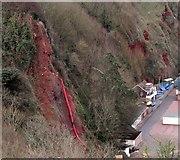 SX9265 : Cliff work, Oddicombe by Derek Harper