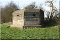 SP4101 : Pillbox near Moreton, beside path on north side of the Thames by Roger Templeman