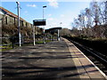 ST0896 : Quakers Yard railway station CCTV camera by Jaggery