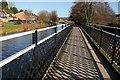 SO8304 : Footbridge beside Stroudwater Canal by Philip Halling