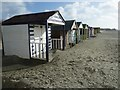 SZ7698 : Beach Huts behind West Wittering beach by Rob Farrow