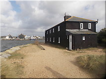 SZ1891 : Mudeford: past the Black House by Chris Downer