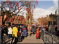 SJ8398 : Albert Square, Chinese New Year Celebrations by David Dixon