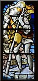 TQ5203 : Alfriston: St. Andrew's Church: The Legend of St. Christopher window by Michael Garlick