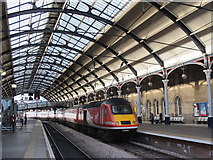 NZ2463 : Newcastle Central station, platforms 4 and 5/6 by Mike Quinn