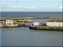 NZ4349 : The Lock, Seaham Harbour by Oliver Dixon