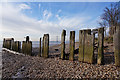 TA0325 : Former jetty at Hessle Haven by Ian S