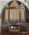 TF1089 : Organ, St Thomas' church, Market Rasen by Julian P Guffogg