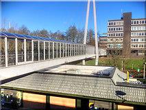 SD4806 : Skelmersdale Concourse Bridge by David Dixon