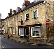 SP0202 : The Corner Stone, Dollar Street, Cirencester by Jaggery