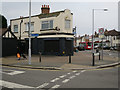 TQ1865 : Former pub, Red Lion Road by Hugh Venables