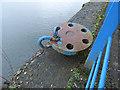 NS3374 : Old shipyard bollard by Thomas Nugent