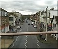 TQ2168 : Coombe Road, New Malden, as seen from the railway by Christopher Hilton