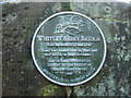 SP3476 : Plaque on Whitley Abbey Bridge, Whitley, Coventry by Robin Stott