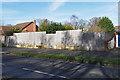 SU8360 : Demolished house, Darby Green by Alan Hunt