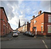 SJ8889 : Stopford Street, Edgeley by Gerald England
