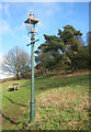 SO7646 : Gas Lamp on the Common by Des Blenkinsopp
