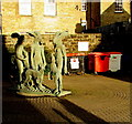 SP0201 : Public sculpture in Brewery Court,Cirencester by Jaggery