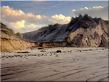 SD2707 : Changing Coastline at Formby by David Dixon
