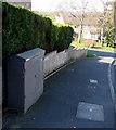 ST3090 : Virgin Media telecoms cabinet, Laurel Crescent, Malpas, Newport by Jaggery