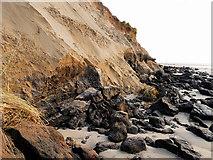 SD2707 : Formby Sand Cliffs by David Dixon