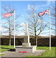 TF9114 : 392 Bomb Group Memorial at Beeston by Evelyn Simak