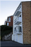 ST1972 : Residential Flats by Alan Hughes