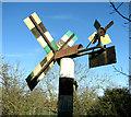 TF9015 : Windmill in a garden (detail) by Evelyn Simak