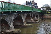 SK7954 : Trent Bridge, Newark by David Martin