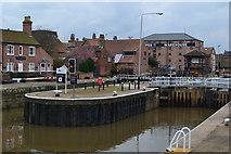 SK7953 : Newark Town Lock by David Martin