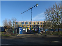 TL4359 : Building works at Churchill College by Hugh Venables