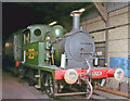TQ4023 : Bluebell Railway 'P' 0-6-0T No.323 on Shed, 2003 by Ben Brooksbank