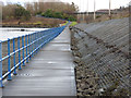 NS3474 : Riverside path at Port Glasgow by Thomas Nugent