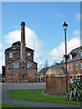SK2422 : Former Trent Brewery, Burton-on-Trent by Chris Allen