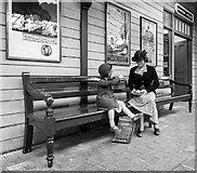 SU1484 : Waiting for the train by David P Howard