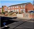 ST3388 : Row of four houses, Chepstow Road, Newport by Jaggery