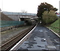 SM9310 : Two road bridges viewed from Johnston railway station by Jaggery