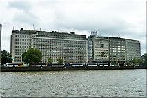 TQ3078 : Buildings on Albert Embankment by Robin Webster