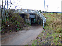 NS3174 : Former A8 Underpass by Thomas Nugent