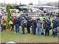 TF9228 : The press pack at Fakenham Racecourse waiting for Victoria Pendleton by Richard Humphrey