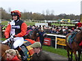 TF9228 : Victoria Pendleton's first race at Fakenham racecourse by Richard Humphrey