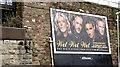 "J3474 : ""Wet wet wet"" poster, Belfast (February 2016) by Albert Bridge"