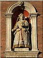 SO8554 : Statue of Queen Anne by Philip Halling