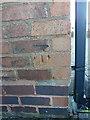 SP1583 : OS benchmark - Elmdon, 18 Charingworth Road by Richard Law
